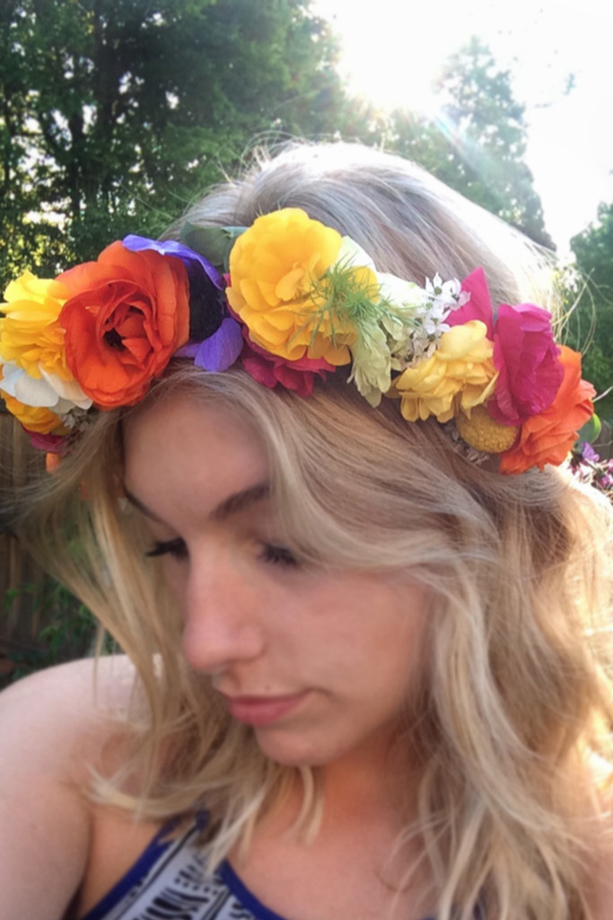 Blossom and Branch Floral Crown