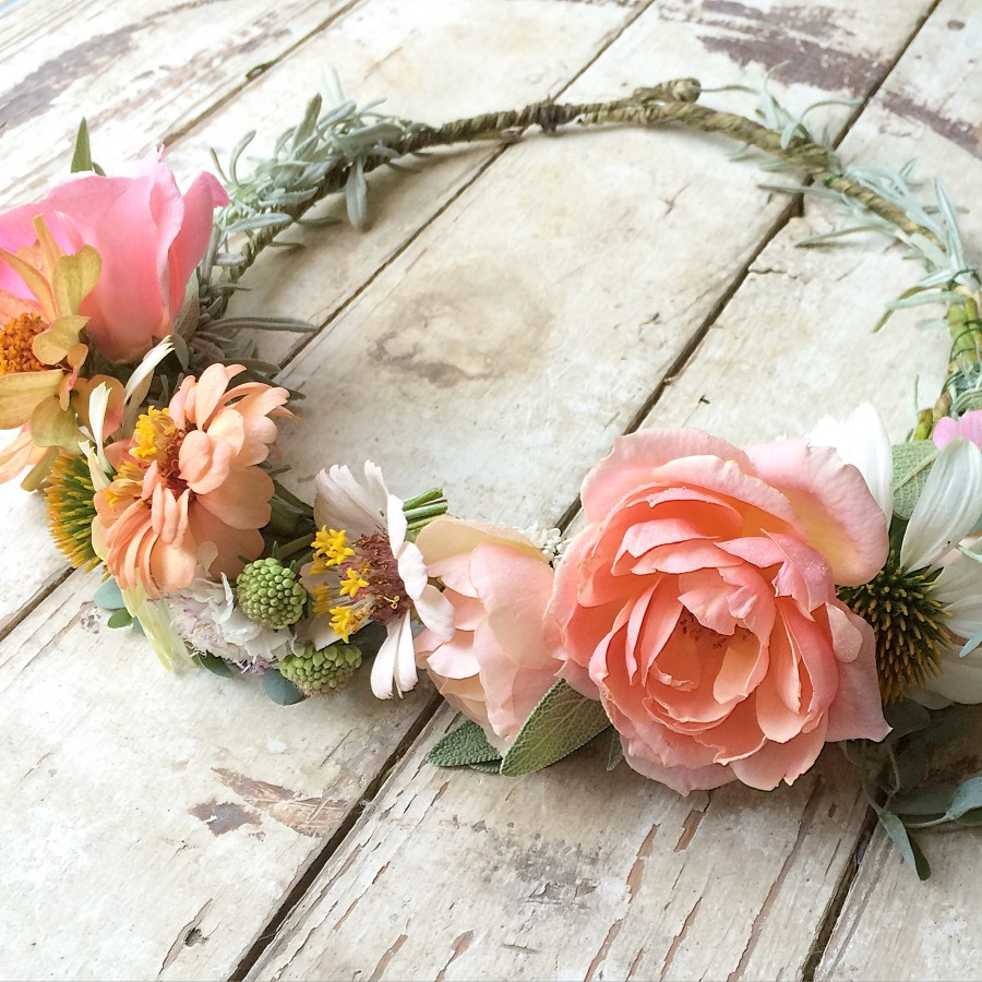 Flower Crown for Mother to Be