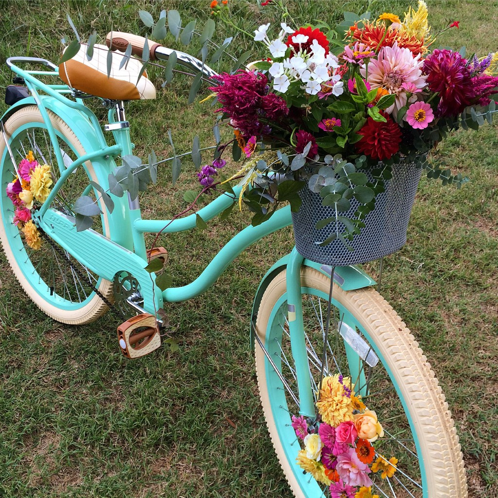 Blossom and Branch | Floral Bike Shoot